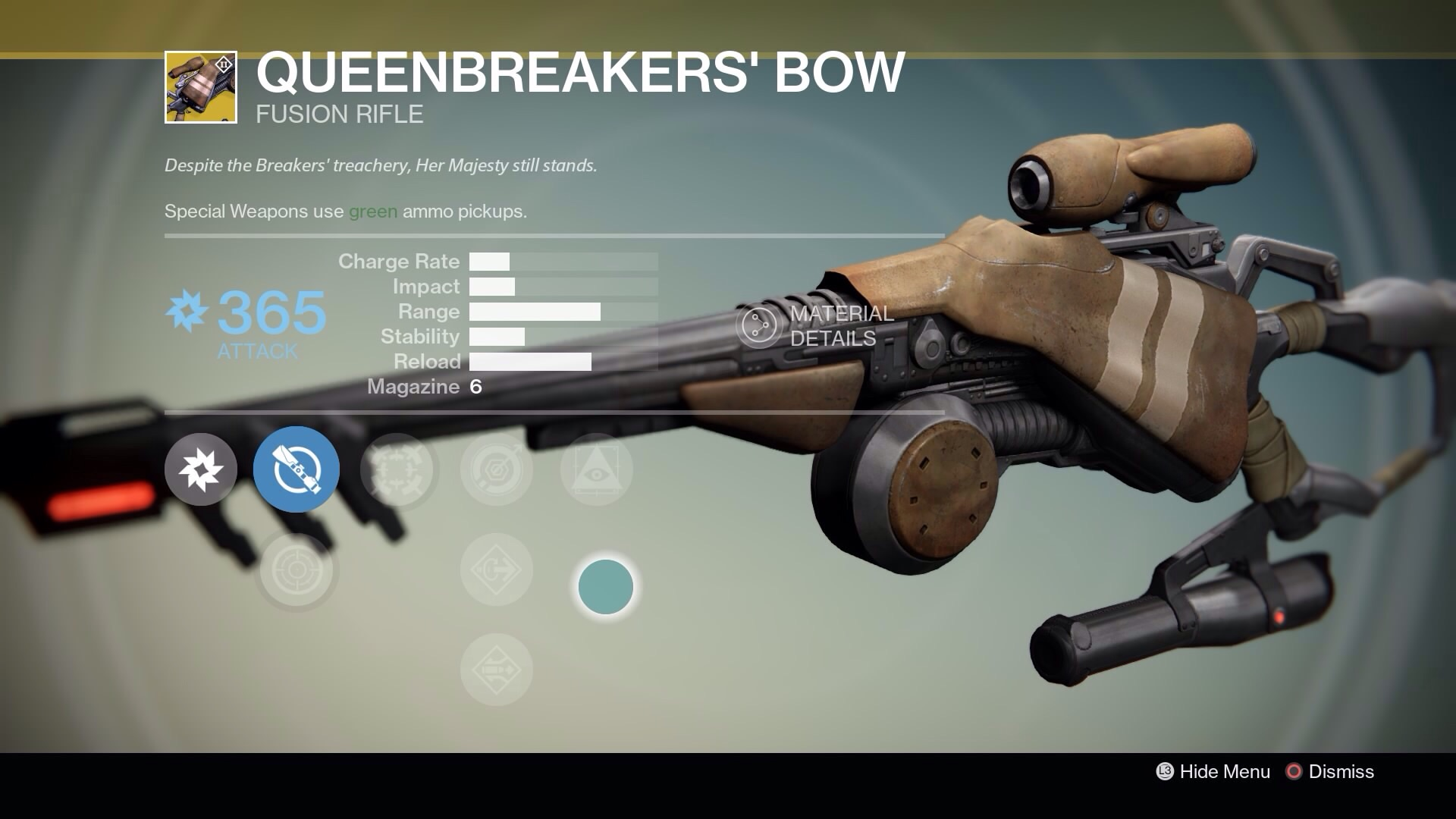 Experience the new fallen exotic weapons in destiny just push start
