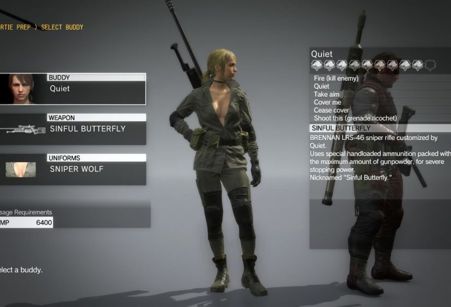 Metal gear quiets mission porn music video - 2 6