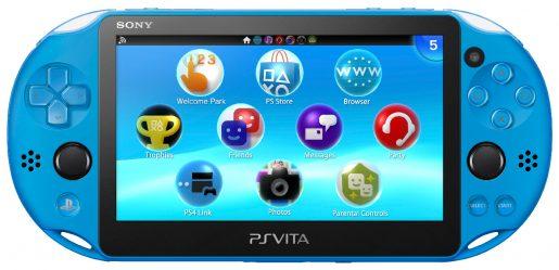 PS Vita Aqua Blue