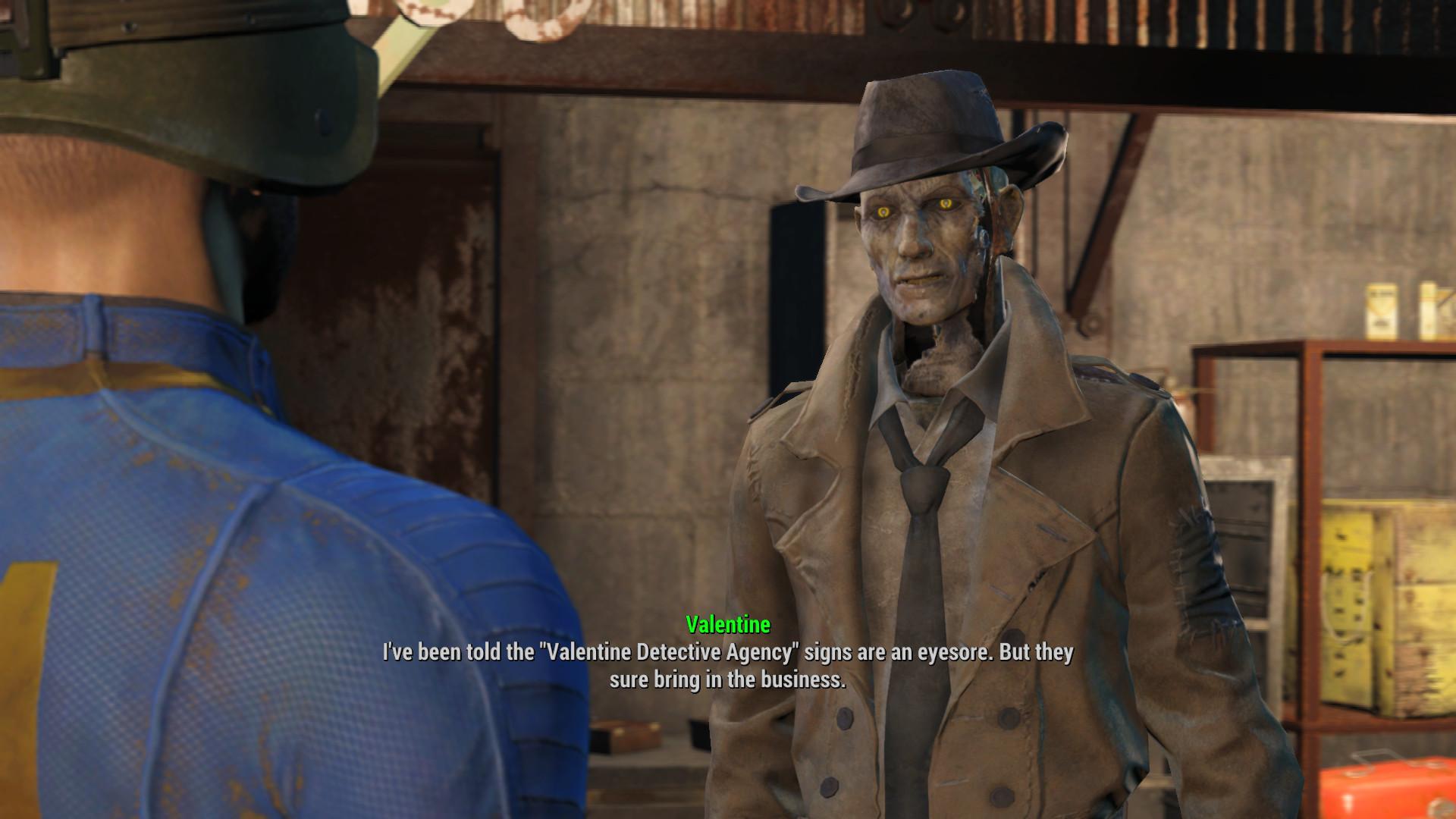 Fallout 4 дорогой детектив