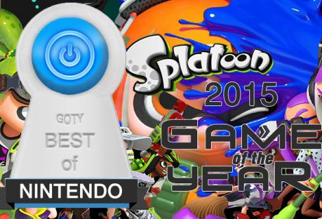 Best Nintendo Game of 2015 - Splatoon