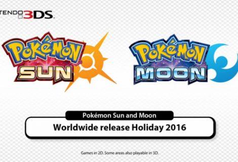 Pokemon Moon and Pokemon Sun demo launches October 18
