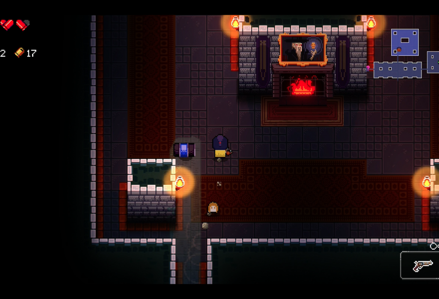 First Secret Room Gungeon
