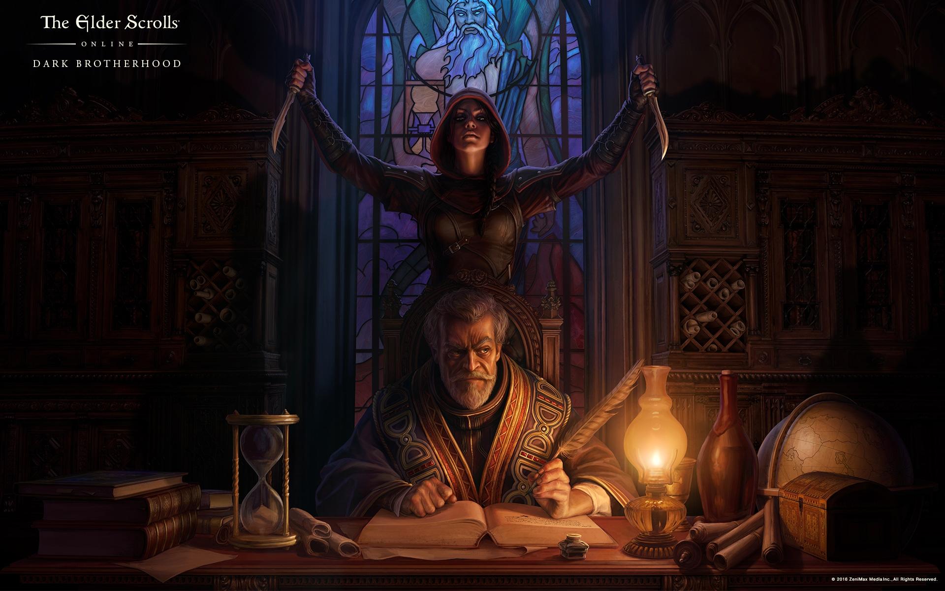 The Elder Scrolls Online's sneaky, stabby Dark Brotherhood DLC is out now