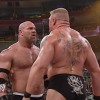 Brock Lesnar Challenges Goldberg In WWE 2K17 Video