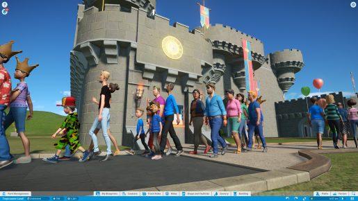 planet coaster castle