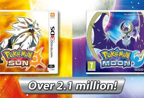 Pokemon Sun And Moon Already Sells 2.1 Million Copies In Europe