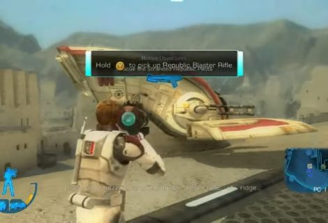 New Gameplay Video Revealed For Cancelled Star Wars Battlefront 3