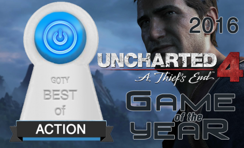 Uncharted 4 Best Action Game of 2016