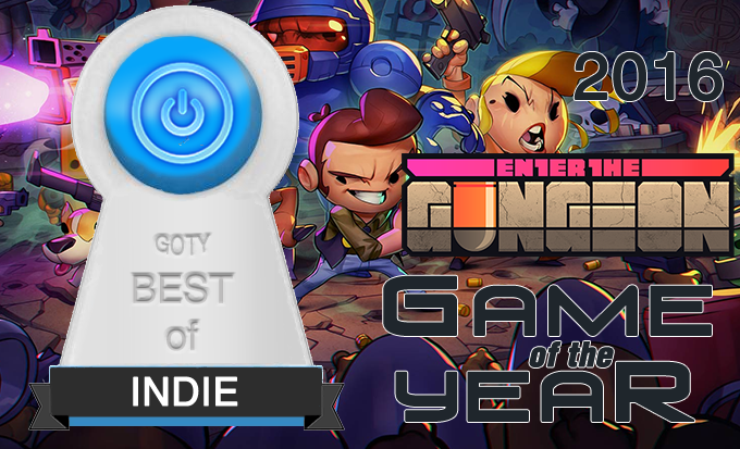 Best Indie Game of 2016 – Enter the Gungeon