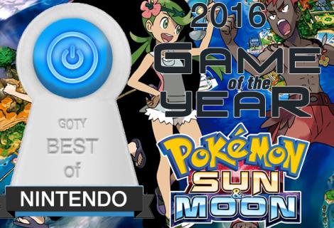 Best Nintendo Game of 2016 - Pokemon Sun and Moon
