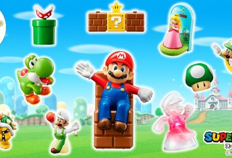 Super Mario Toys Being Sold At McDonald's In Japan