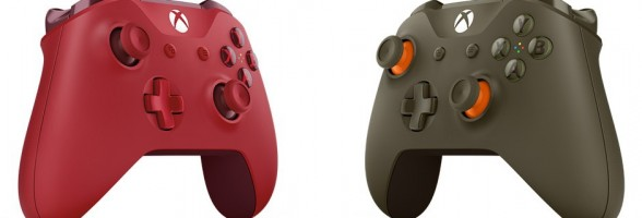 Two New Xbox One Controller Colors Now Revealed