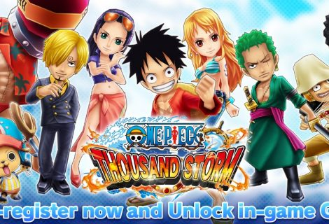 One Piece Thousand Storm Now Available To Pre-register On Android And iOS