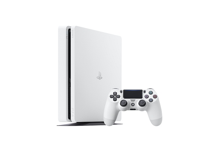 New Glacier White PS4 Slim Console Announced