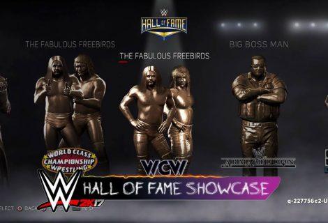 WWE 2K17 PC Launch Trailer Includes Sneak Peek At Hall of Fame Showcase DLC