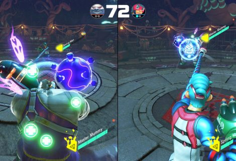 Arms On Nintendo Switch Reminds Me Of An Old Ape Escape Mini-Game