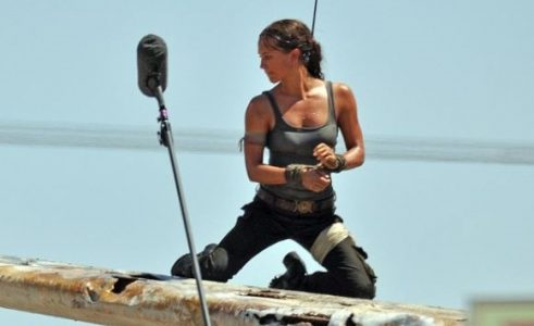These Are The First Set Photos Of Alicia Vikander As Lara Croft