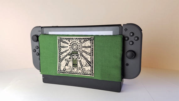 Someone Is Selling Soft Nintendo Switch Dock Covers To Prevent Screen Scratches