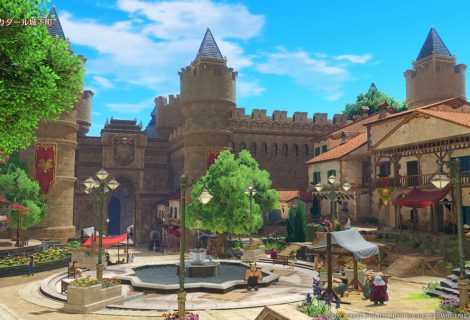 New 3DS And PS4 Screenshots Released For Dragon Quest XI