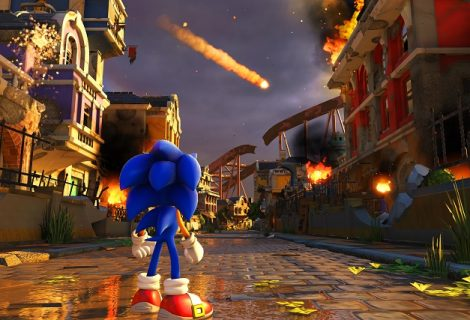 First Sonic Forces Gameplay Trailer Speeds Out