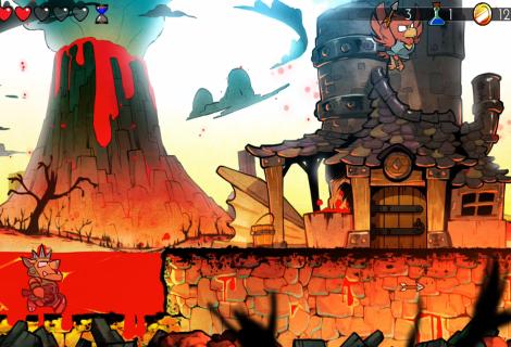 Wonder Boy: The Dragon's Trap - Every Charm Stone Location