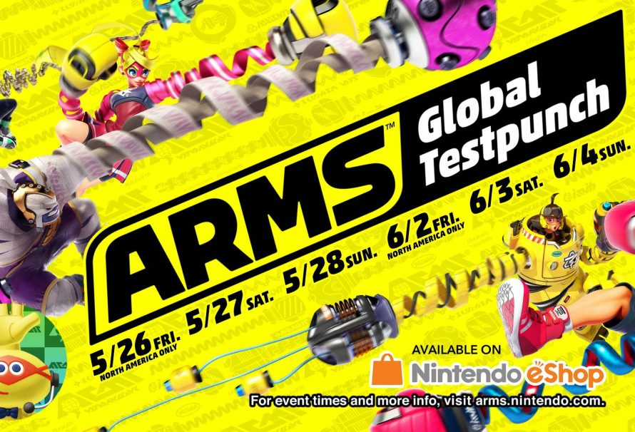 Global Test Punch Confirmed for ARMS; Starts May 26
