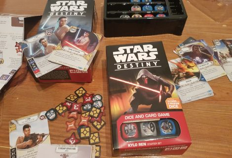Star Wars: Destiny Review - An Out Of This Galaxy Dice & Card Game