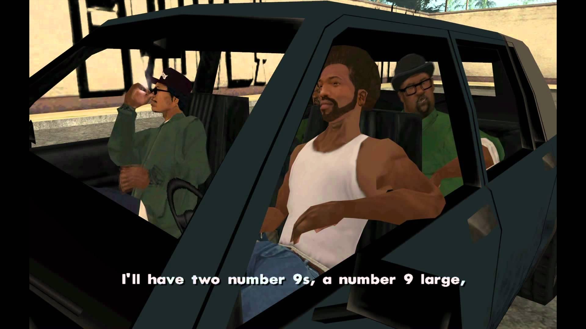 Секреты Читкоды GTA San Andreas для PS2 и PS3