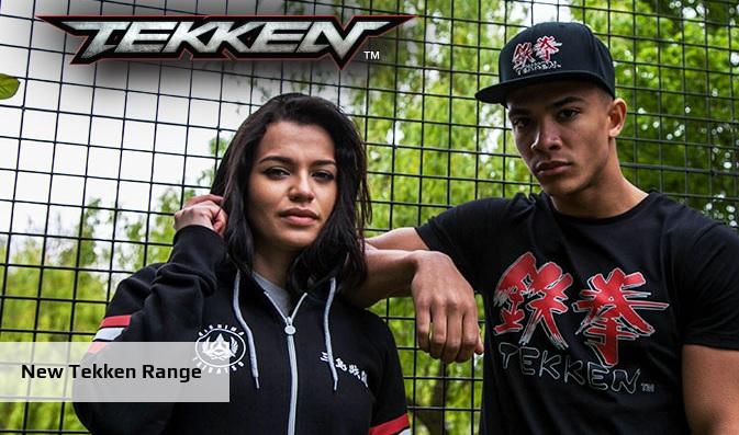 Retro Tekken Merchandise Being Released In Europe To Celebrate Tekken 7