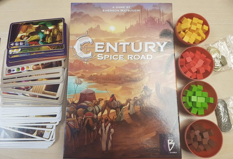 Century Spice Road Review – Engine Building Brilliance