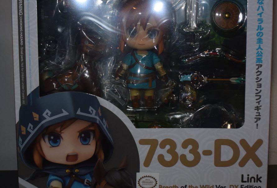 The Legend of Zelda: Breath of the Wild Link Nendoroid Unboxing