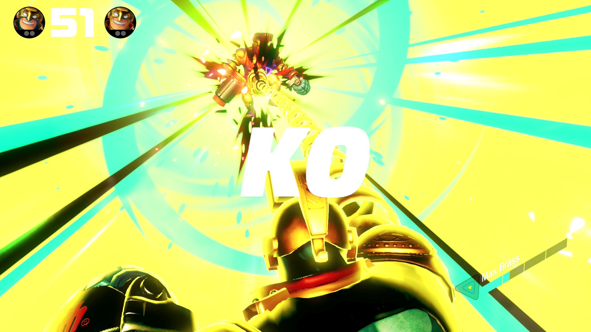 Arms update version 2.0 adds Max Brass and a new versus mode