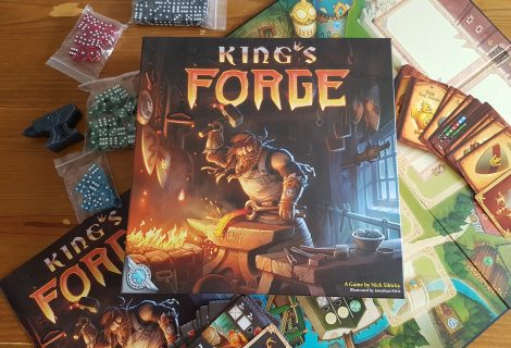 King's Forge Review - A Plethora Of Dice