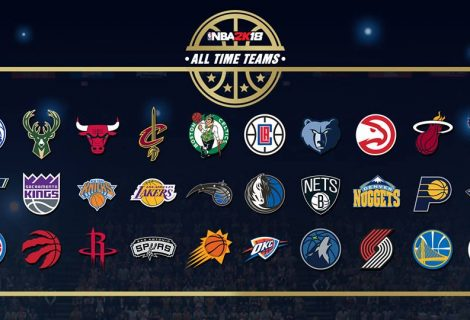 NBA 2K18 To Include All Time Teams For All 30 Franchises