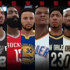 Top Rated Players Revealed In NBA 2K18