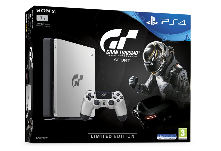 Limited Edition Gran Turismo Sport PlayStation 4 Console Releasing This Oct