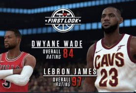 d9c72e3fb2c3 LeBron James And Dwyane Wade s NBA 2K18 Player Ratings Revealed