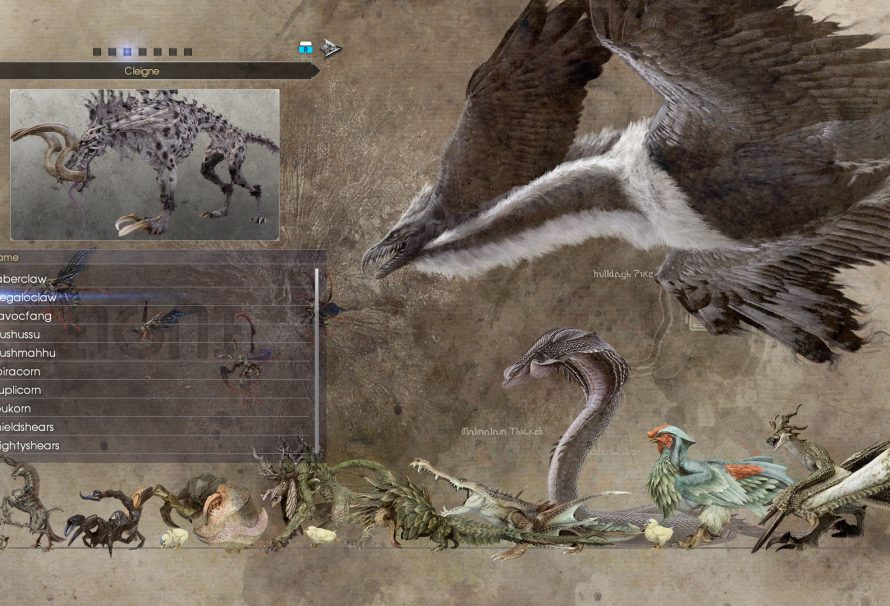 Final Fantasy XV getting a new patch this month; adds Bestiary and Chapter Select