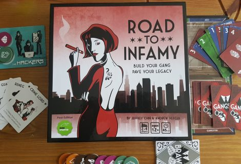 Road To Infamy Review - Bidding, Bribery & Brilliance