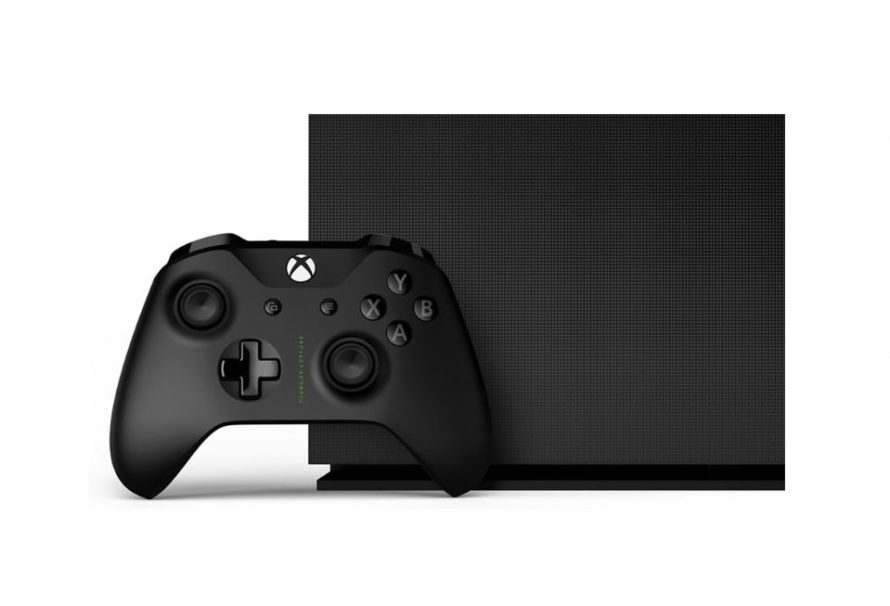 Xbox One X Project Scorpio Edition Revealed At Gamescom 2017