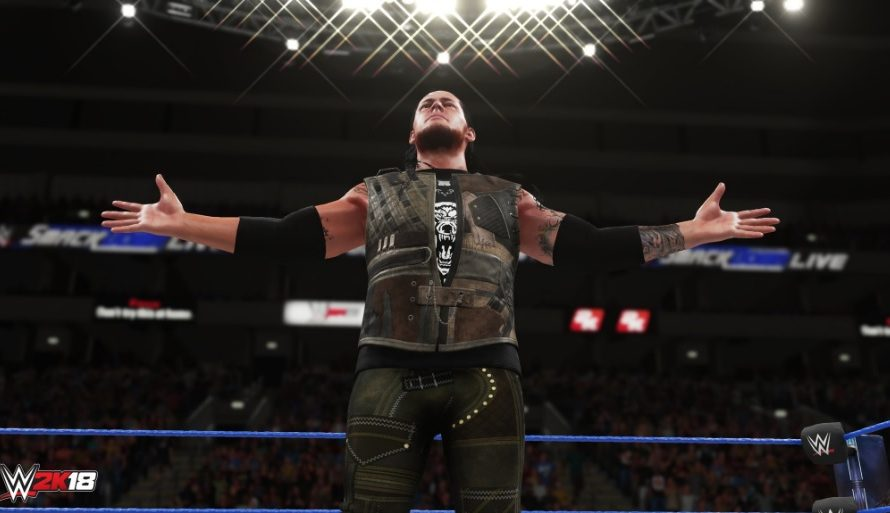 New WWE 2K18 Screenshots Shared; Note On Nintendo Switch Version