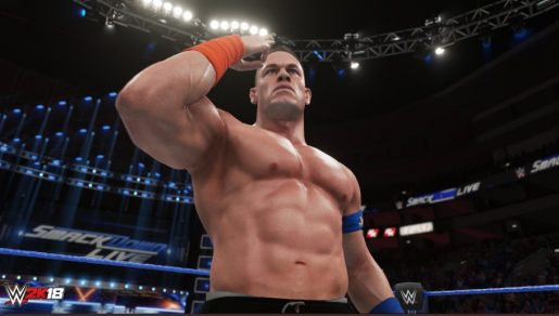 New WWE 2K18 Trailer Shows Epic Gameplay