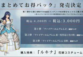 Fire Emblem Warriors three upcoming DLC packs detailed