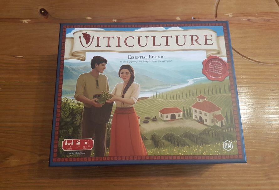 Viticulture Essential Edition Review – A Beautiful Worker Placement Game