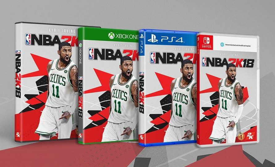 New Kyrie Irving NBA 2K18 Cover Now Available