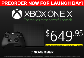 EB Games Australia Has More Stock Of The Xbox One X Console For Launch