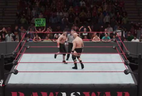 WWE 2K18 Gameplay Video Shows John Cena vs. Stone Cold Steve Austin