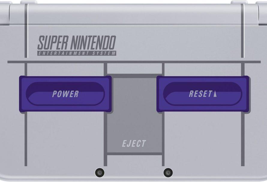 Amazon Lists New Nintendo 3DS XL SNES Edition