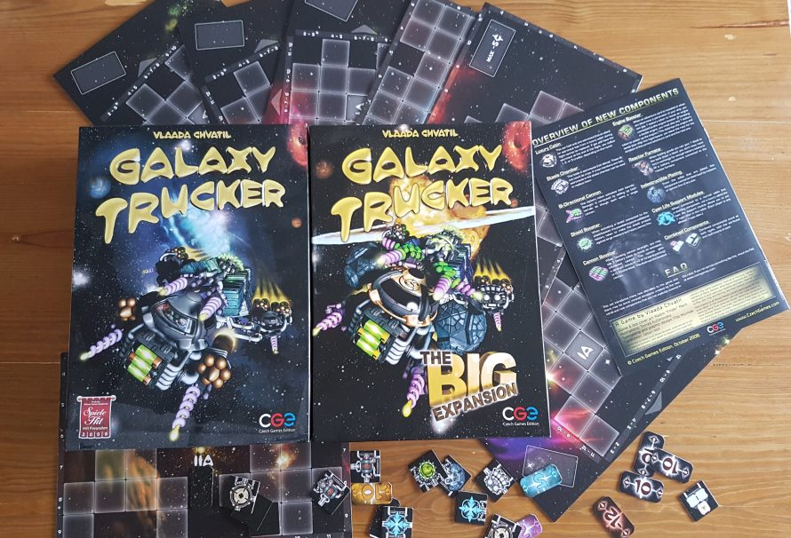 Galaxy Trucker The Big Expansion Review – More Fun Ways To Die In Space!